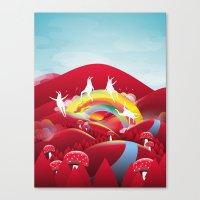 Happy Place Canvas Print