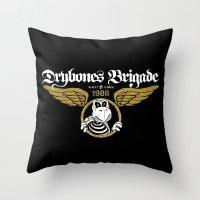 DryBones Brigade Throw Pillow