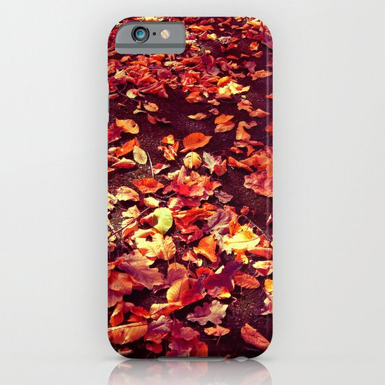 autumn path abstract I iPhone & iPod Case