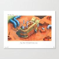 POP HELL #2 Canvas Print