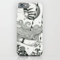 iPhone & iPod Case featuring East of Blue Lake by Judith Clay