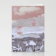 Stationery Cards featuring Arte Nº 9 by Fernanda S.