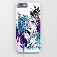Tribal Girl - Colourway - iPhone 6 Slim Case