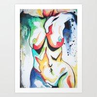 Babe #5 Art Print
