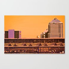 The State of the Economy Canvas Print