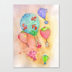 fly away Canvas Print