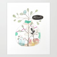 Greetings Art Print