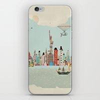 visit new york iPhone & iPod Skin