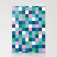 Colour Block #5 Stationery Cards