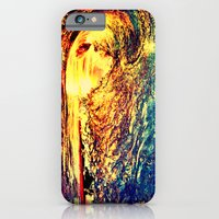 Waves In The Sunset iPhone 6 Slim Case