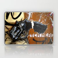 She's Got A Gun Laptop & iPad Skin