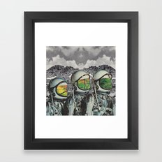 Les Distantes Framed Art Print
