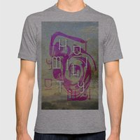 Humility  Mens Fitted Tee Athletic Grey SMALL