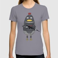 S.W.A.T. Womens Fitted Tee Slate SMALL