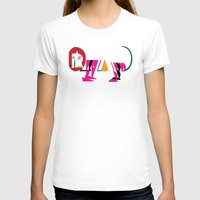 David Nuh Omar's Lion (L… Womens Fitted Tee White SMALL