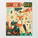 Q IS FOR QUAALUDE Canvas Print