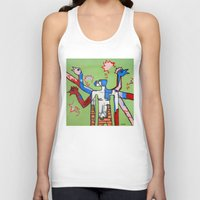 Contemplating The Ability To Fly Unisex Tank Top