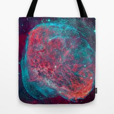 Crescent Nebula Tote Bag