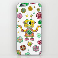 Robot Rita iPhone & iPod Skin