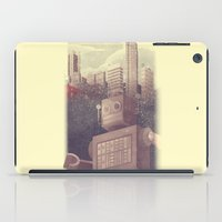 A City Snow-Bot iPad Case