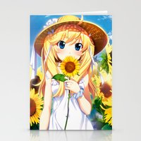 NEW ANIME COLLECTION 4 Stationery Cards