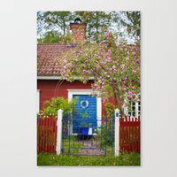 The Cottage. Canvas Print