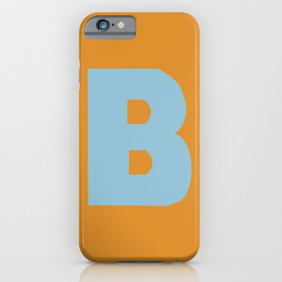 Blue B iPhone & iPod Case