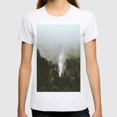 wilder mind Womens Fitted Tee Ash Grey SMALL