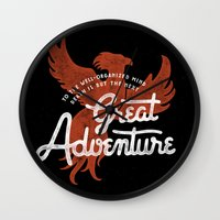 Great Adventure Wall Clock
