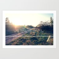 The Only Time You Should… Art Print