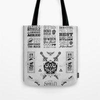 Legend Of Zelda - The Hy… Tote Bag