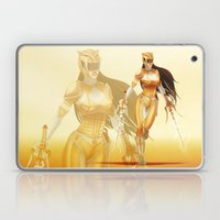 Yellow Ranger Laptop & iPad Skin