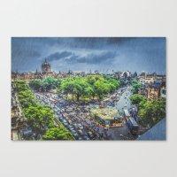 Chhatrapati Shivaji Terminus 1 Canvas Print