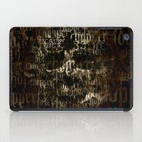 SKULL BIKE iPad Case