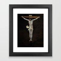 Paper Idols Framed Art Print