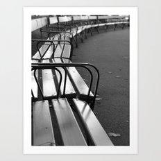 Bench-series Art Print