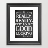 Really, Really, Ridiculo… Framed Art Print