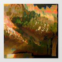 06-04-18 (Mountain Glitc… Canvas Print
