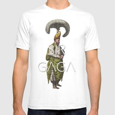 Ottoman No: 3 White SMALL Mens Fitted Tee