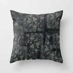 Tapestry Floral- Colorwa… Throw Pillow