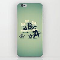 Type Rights iPhone & iPod Skin