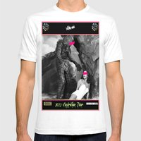 Stockholm Syndrome Mens Fitted Tee White SMALL