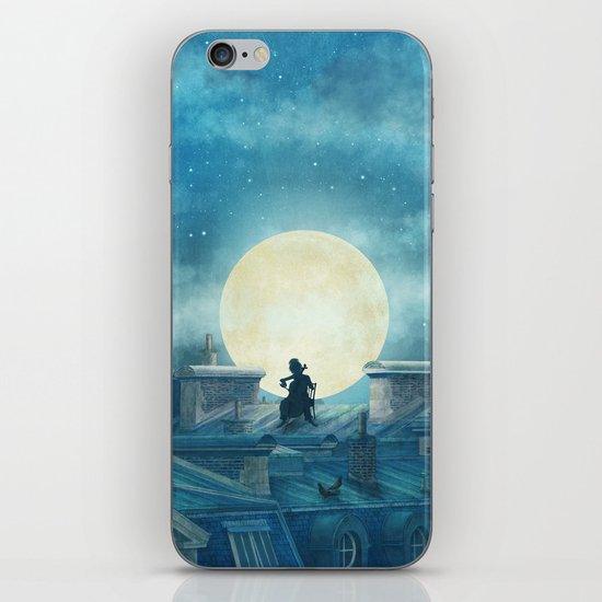 Rooftoppers iPhone & iPod Skin