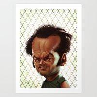 Jack Nicholson Art Print