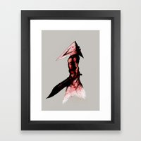 Pyramid Head 2.0 Fine Art Print Framed Art Print