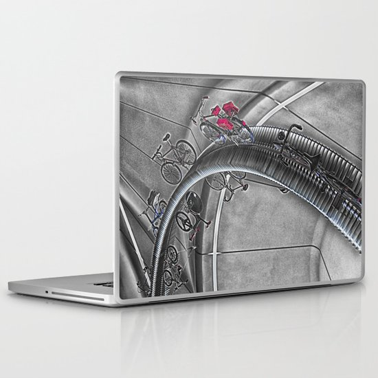 Riding the Heights  Laptop & iPad Skin