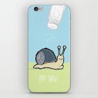 Yay! Snow! iPhone & iPod Skin