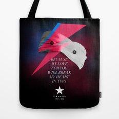 Blackstar (from Mars) Tote Bag
