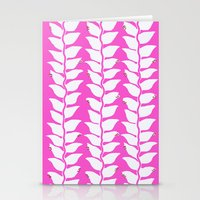 Hot Pink Heliconia Stationery Cards