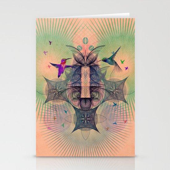The Hummingbird Dimension Stationery Card